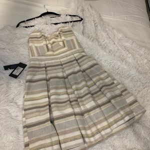 NWT Marciano Strapless Cocktail Dress Size 4